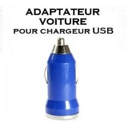 ADAPTATEUR VOITURE POUR CHARGEUR USB