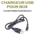 CHARGEUR USB POUR BOX