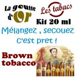 BROWN TOBACCO - KITS  20 ML