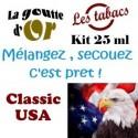 CLASSIC USA - KIT 25 ML