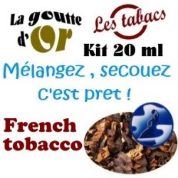 FRENCH TOBACCO - KITS 20 ML