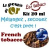 FRENCH TOBACCO - KITS 20 ML