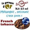 FRENCH TOBACCO - KIT 25 ML