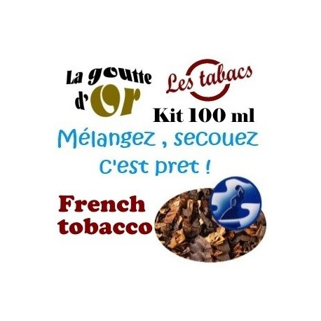 FRENCH TOBACCO - KITS 100 ML