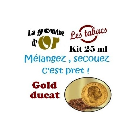 GOLD DUCAT -  KIT 25 ML