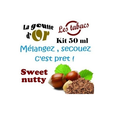 SWEET NUTTY - KITS 50 ML