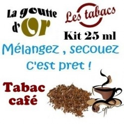 TABAC CAFE - KIT 25 ML