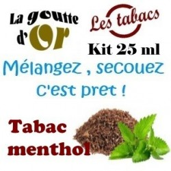 TABAC MENTHOL - KIT 25 ML