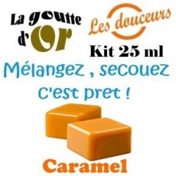 CARAMEL - KIT 25 ML