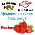 FRAISE - KITS 50 ML