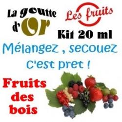 FRUITS DES BOIS - KITS 20 ML