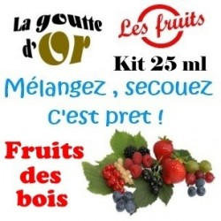 FRUITS DE BOIS - KIT 25 ML