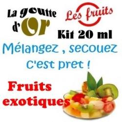 FRUITS EXOTIQUES - KITS 20 ML