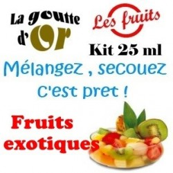 FRUITS EXOTIQUES - KIT 25 ML
