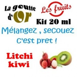 LITCHI KIWI - KITS 20 ML