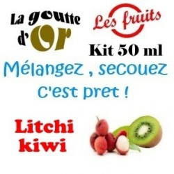 LITCHI KIWI - KITS 50 ML