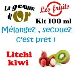 LITCHI KIWI - KITS 100 ML