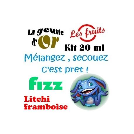 FIZZ LITCHI FRAMBOISE - KITS 20 ML