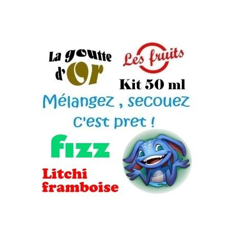 FIZZ LITCHI FRAMBOISE - KITS 50 ML