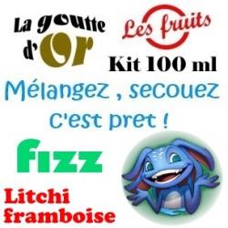 FIZZ LITCHI FRAMBOISE - KITS 100 ML