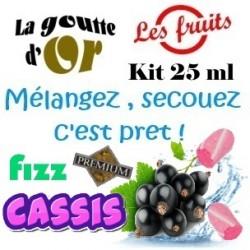 FIZZ CASSIS - KIT 25 ML