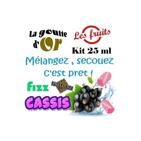 FIZZ CASSIS - KIT 25 ML