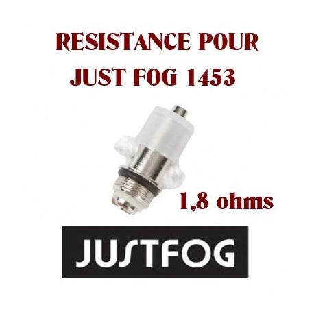 RESISTANCE POUR JUST FOG