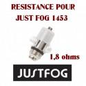 RESISTANCE POUR JUST FOG 1453
