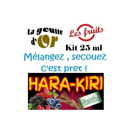 HARA - KIRI - KIT 25 ML