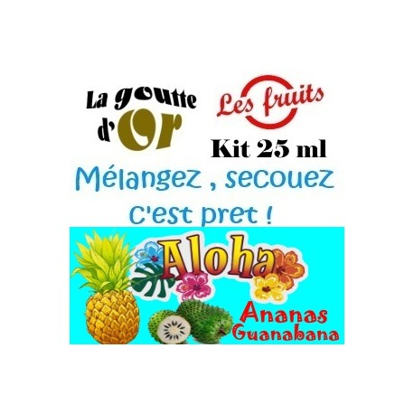ALOHA - KIT 25 ML