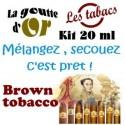 BROWN TOBACCO - KITS  20 ML