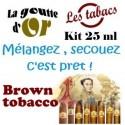 BROWN TOBACCO - KIT 25 ML