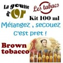 BROWN TOBACCO - KITS 100 ML