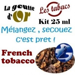 FRENCH TOBACCO - KIT 25 ML