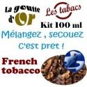 FRENCH TOBACCO - KITS 100 ML