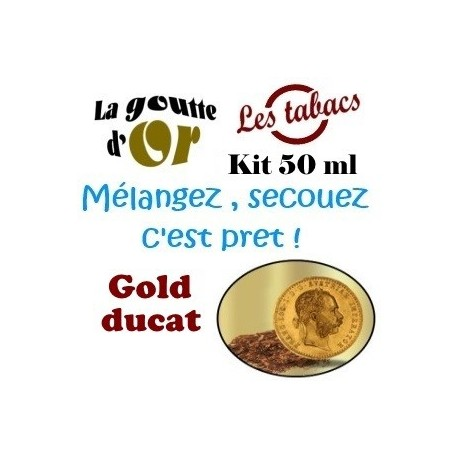 GOLD DUCAT - KITS 50 ML