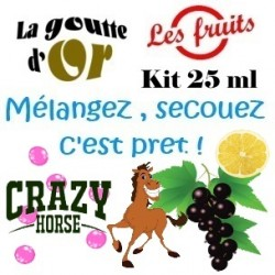 CRAZY HORSE - KIT 25 ML