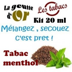 TABAC MENTHOL - KITS 20 ML
