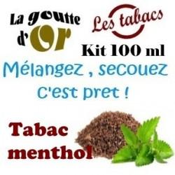 TABAC MENTHOL - KITS 100 ML