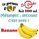 BANANE - KITS 100 ML