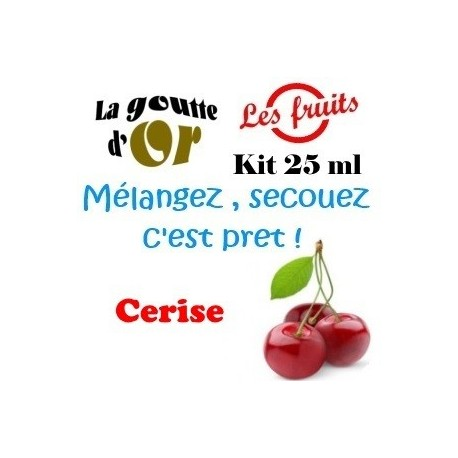 CERISE - KIT 25 ML