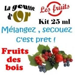 FRUITS DE BOIS - KIT 25 ML