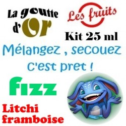 FIZZ LITCHI FRAMBOISE - KIT 25 ML