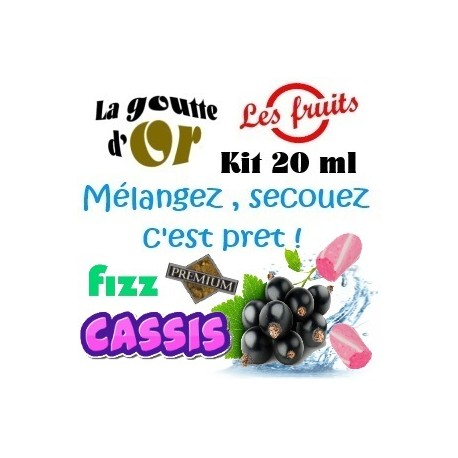 FIZZ CASSIS - KITS 20 ML
