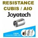 RESISTANCE CUBIS / AIO JOYETECH