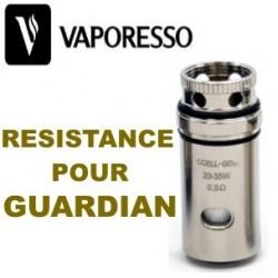 RESISTANCE POUR GUARDIAN