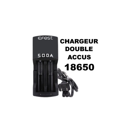 CHARGEUR ACCUS 18650