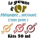 KITS 50 ML / de 00 mg à 16 mg
